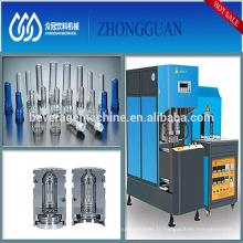 Haute stabilité Semi automatique plastique PET bouteille souffleur Machine