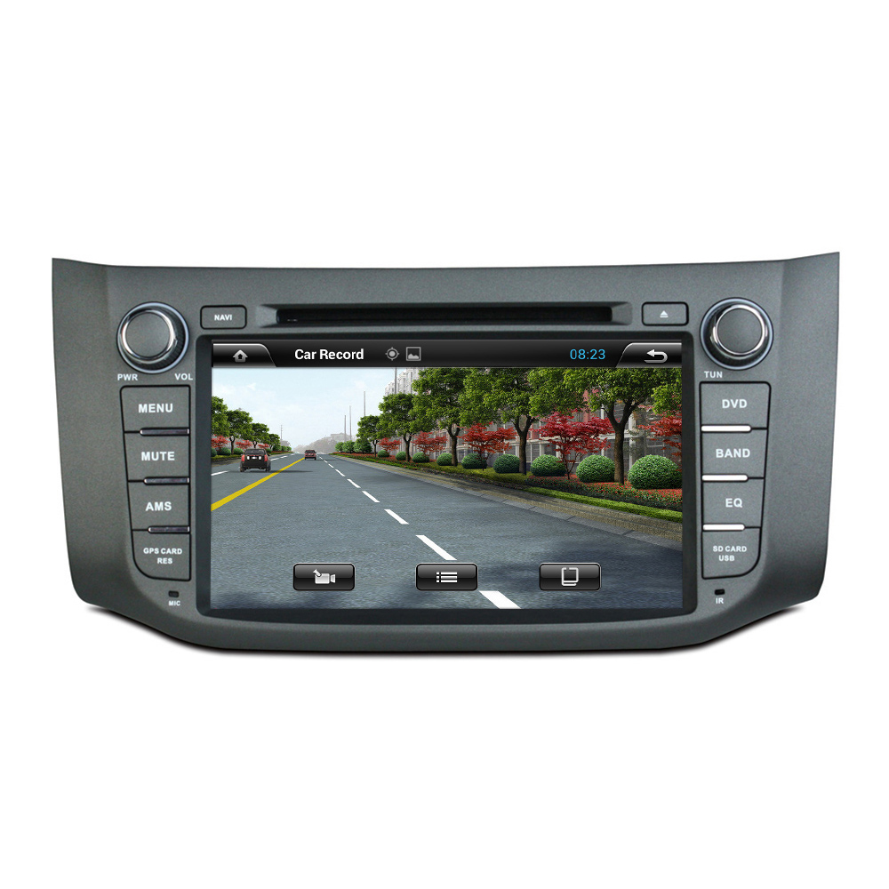 6B17 2012-2014 car DVD player for Nissan
