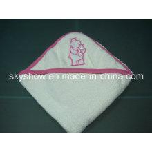 Kinder mit Kapuze Baumwollhandtuch (SST0303)