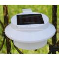 Lampe de mur de clôture de jardin étanche à LED solaire