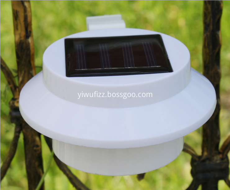Outdoor fence light