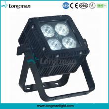 Outdoor DMX 4X15W Ostar RGBW LED Flat PAR