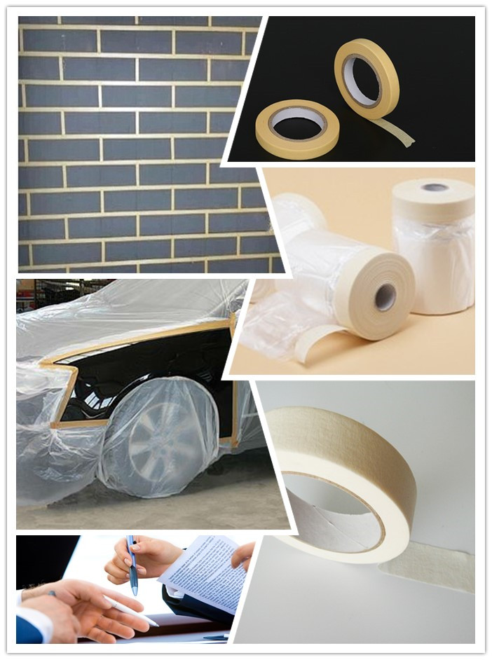 Masking tape use