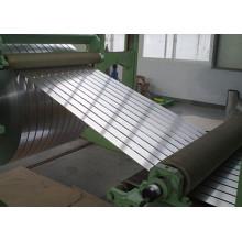 Bande en aluminium simple pour l'enroulement électrique de transformateur
