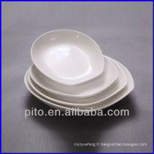 Plats de salade en porcelaine P & T, assiette profonde