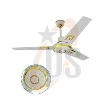 56 polegadas luxo DC / Solar Metal ventilador de teto (USDC-507)