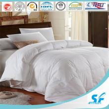 100% algodón suave ropa de cama en blanco de alta calidad