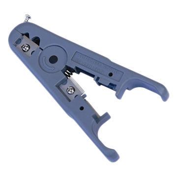 Abisolierzange für Rund- / Flachkabel (ST-2036)