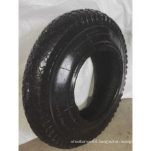 Wheel Barrow Tire with High Contain Natural Rubber