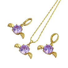 Free Sample Valentine′s Gift Angel Jewelry Set (60735)
