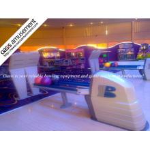 Bowling equipamento com sistema de retorno de bola original