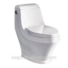 """ЕАГО современный стиль цельный керамический """"сифоник"""" 5л один смывной туалет TB133-1М/Л"""