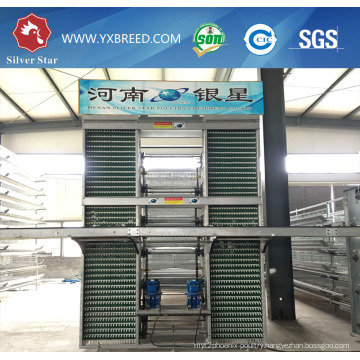 Battery Cage to The Kenya Farm