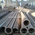 Poligonal, galvanizado, eléctrico, Acero, poste