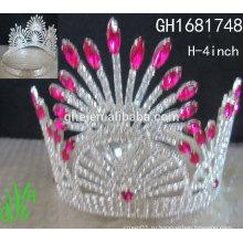 Корона коробочка корона форме кольцо принцесса красоты мини тиары корону