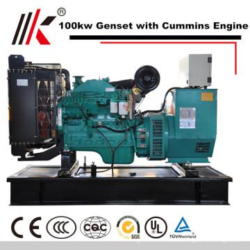 Verkauf Diesel Generator Kraftwerk Preis cum CCEC / DCEC Motor freie Energie Generator Indien Preis
