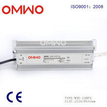 120W 24V 5A LED Driver IP67 Outdoor Waterproof Switching Power Supply