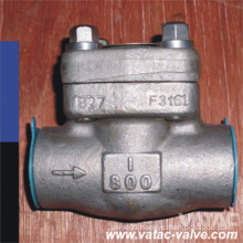 A105 Forged Steel Cl800 NPT Check Valve