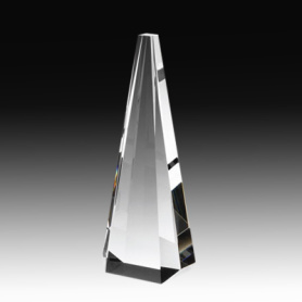 Crystal Tower Obelisk Trophy for Business Gifts