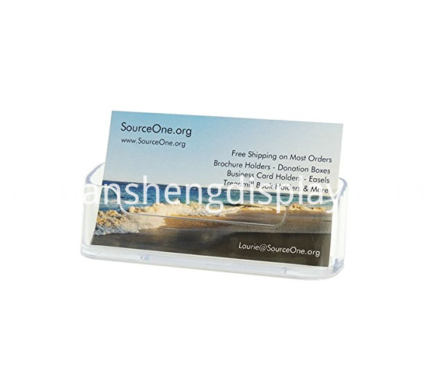 Premium Clear Acrylic Business Card Holders