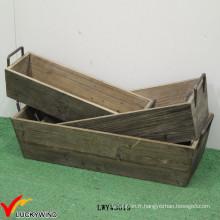 Vintage Pretty Designs Idées Boîte en bois avec poignée