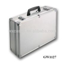 valise éminents aluminium solide de l'usine de la Chine