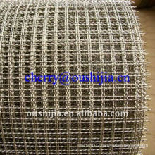 Crimped Stainless Steel Wire Selvedge Mesh(factory&exporter)