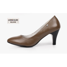 china shoe factory reasonable price ladies high heel work shoes