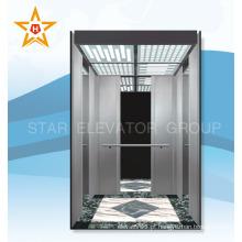 Lugar público 1600KG elevador do elevador do passageiro
