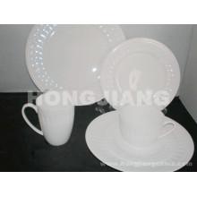 Костяного фарфора Набор посуды (HJ068010)