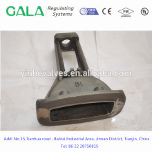 Good quality high precision custom casting Gate valve body ductile iron casting