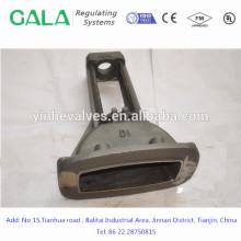 Corpo de válvula de portão de fundição de metais de qualidade superior para gás