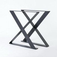 Hotel design Solid bar metal table leg