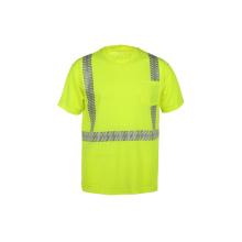 Großhandel hohe Sichtbarkeit reflektierende T-Shirt