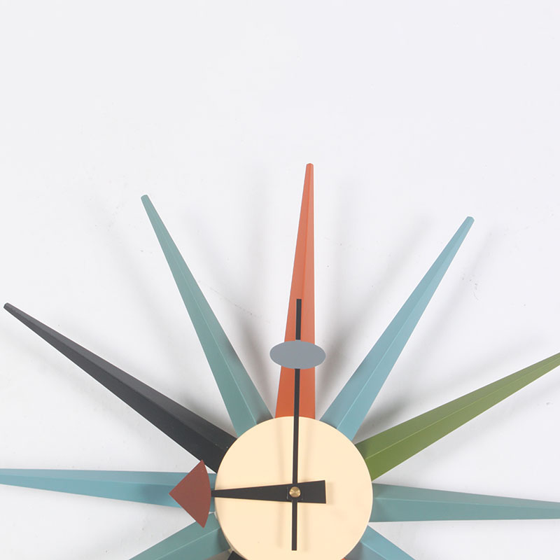 sunburst clock george nelson