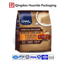 900g Aufstehen Kaffee Verpackungsbeutel mit Reißverschluss