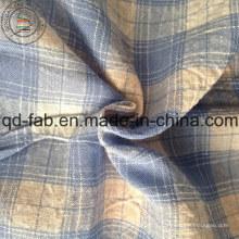 Tissu à rayures en lin à rayures en lin (QF13-0548)