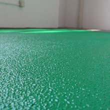 Orange peel wear-resistant epoxy flat coating floor