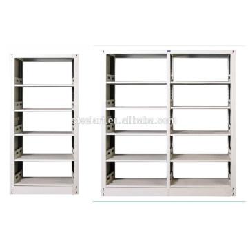 étagère en bois de livre de bibliothèque de cadre en métal de côté avec le bon prix à vendre