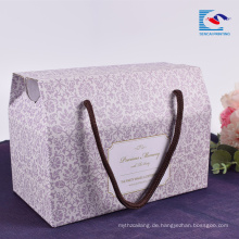 Sencai Custom Promotion Kartonverpackung aus Wellpappe mit Griff