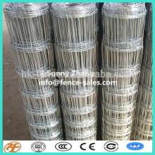 поставка фабрики градуированный стальной проволоки сетки завязанная загородка для животных