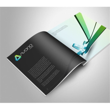 Cmyk Offset Printing Folheto personalizado Folheto Catálogo Impressão