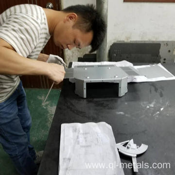 Strict Sheet Metal Parts Quality Control Department