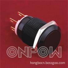 Onpow Metal Push Button (LAS1GQ-11/A, 19mm, CE, VDE, RoHS Compliant)