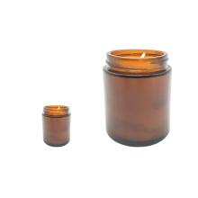 2020 The Top One Home Fashion brown Glass Decorative Aroma Candles