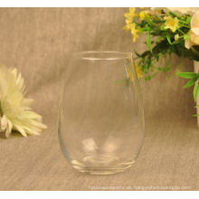 Mundgeblasenes Saft-Glas-Trinkglas
