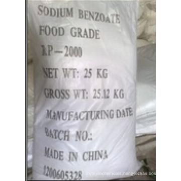 Food Grade Bp Benzoic Acid Granular, Benzoic Acid Powder, Phenylformic Acid