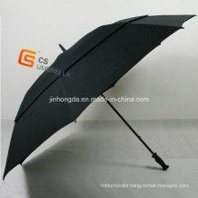 Fiberglass Frame Windproof Golf Umbrella (YS-G1001A)