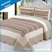 Bettdecke mit Baumwolldruck