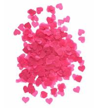 Confeti de papel colorido del corazón